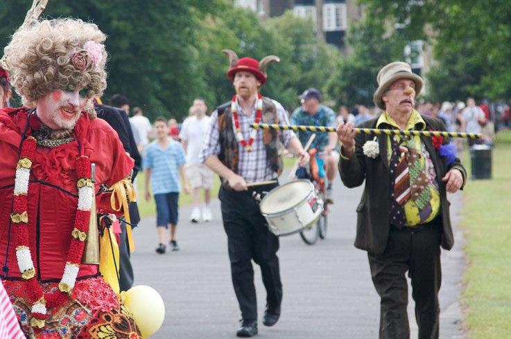 Rediscovered Urban Rituals, Horn Fair