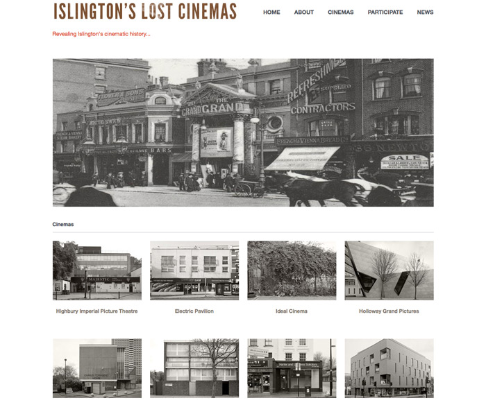 Islington's Lost Cinemas