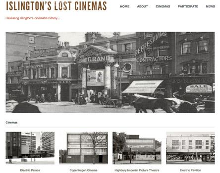 islingtons lost cinemas website