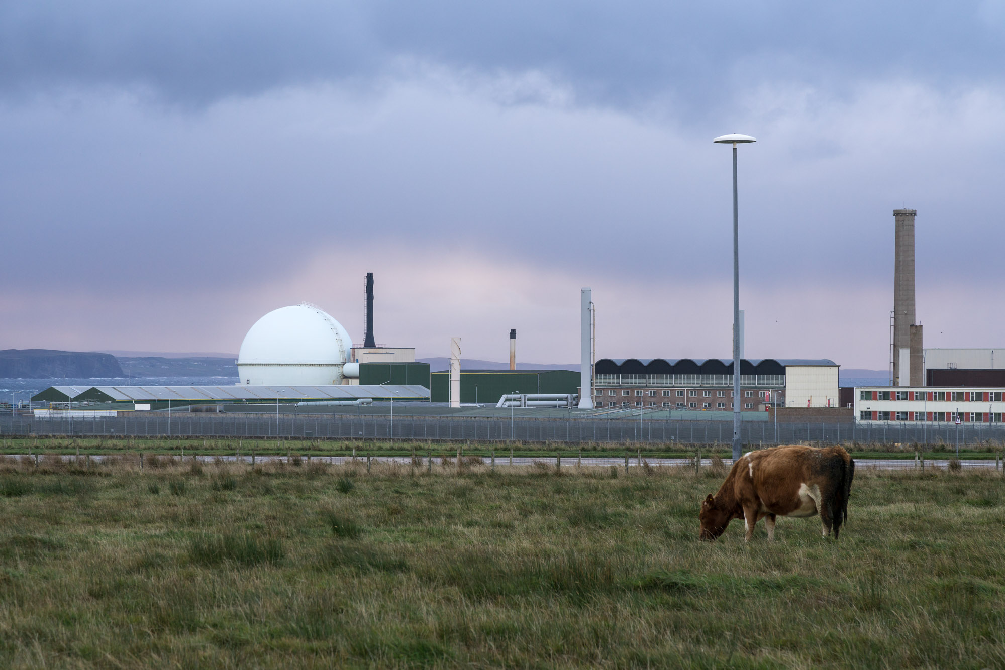 image of Dounreay nuclear power station